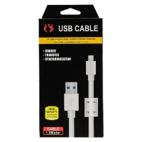 iPhone Lightning USV cable белый