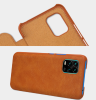 Чехол для Xiaomi Mi 10 Lite QIN Leather Case Nillkin